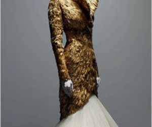 fashion, Alexander McQueen, and dress image