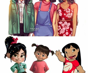 disney, lilo, and boo image