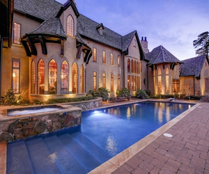 luxury, mansion, and house image