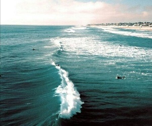 waves, life, and quote image