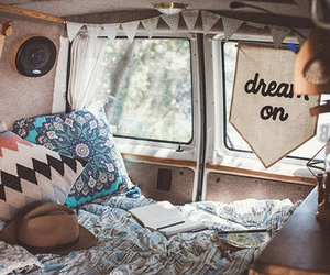 travel, Dream, and van image