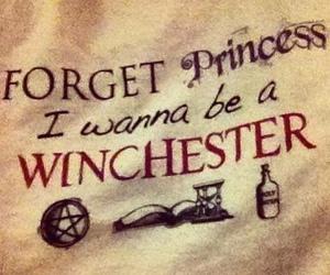 supernatural, winchester, and princess image