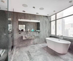 bathroom and goals image