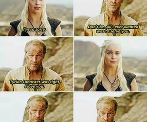 got, jorahmormont, and daenerys image