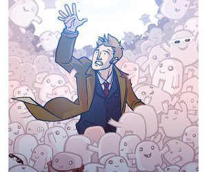 alien, doctor who, and adipose image