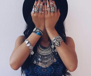 fashion, beautiful, and rings image