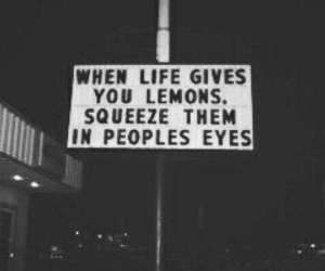 quotes, lemon, and life image