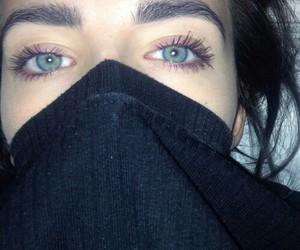 eyes, girl, and grunge image