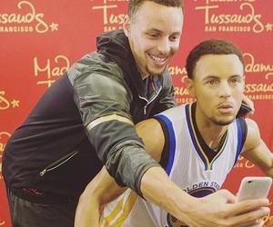 Basketball, NBA, and warriors image