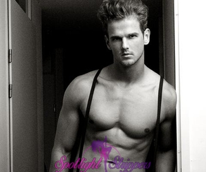 Santa Barbara, male exotic dancers, and hot male strippers image