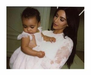 kim kardashian, north west, and cute image