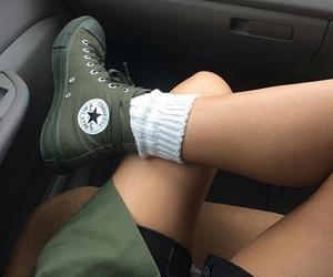 converse, grunge, and fashion image