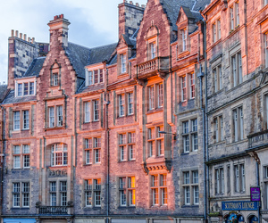 architecture, edinburgh, and europe image
