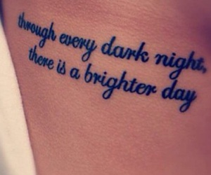 quote, tattoo, and cute image