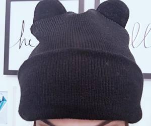 black, frio, and moda image