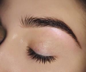 eyebrows, girl, and aesthetic image