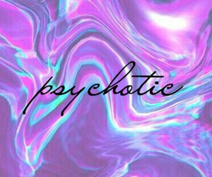 aesthetic, psychotic, and background image
