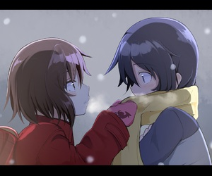 erased, anime, and boku dake ga inai machi image