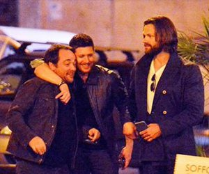 supernatural, crowley, and friends image