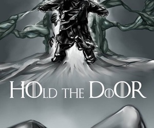 hodor, got, and game of thrones image
