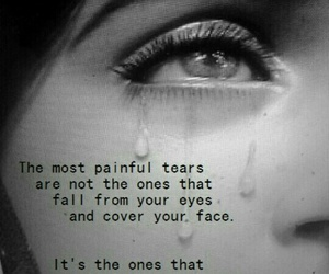 tears, quotes, and sad image