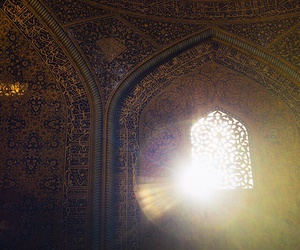 arabic, mosque, and sunshine image