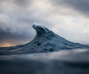 ocean, waves, and nature image