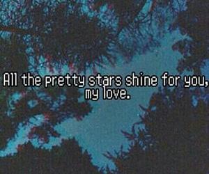 stars, love, and grunge image