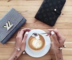 coffee, nails, and tattoo image