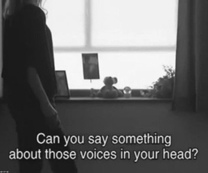 voice, head, and grunge image