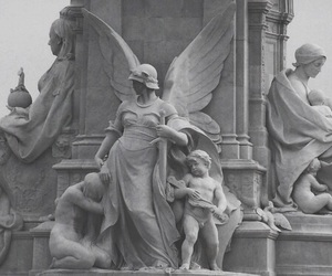 pale, angel, and statue image