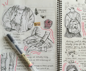 journal, tumblr, and study image