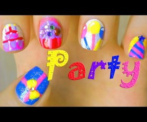 nail art, video, and coloroutbreak image