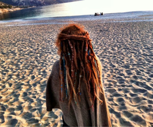 beach and dreads image