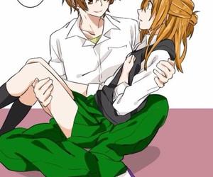 manga, romance manga, and shoujo couple image