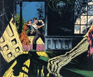 comic, horror, and retro image