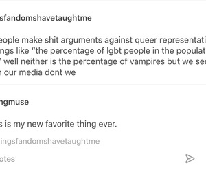 tumblr, lgbt, and representation image