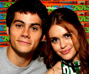 couple, dylan o brien, and teen wolf image
