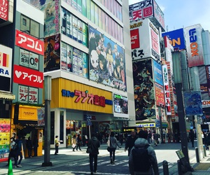japan, tokyo, and electric town image