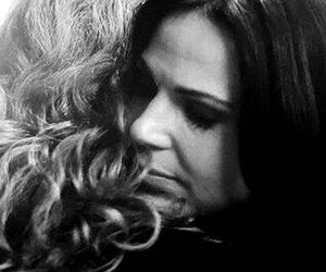 black and white, lana parrilla, and wicked queen image