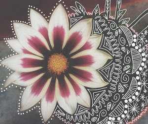 beautiful, doodle, and easel image