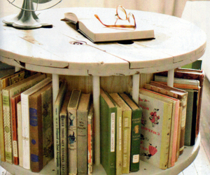 book and table image