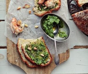 shrimp tartine image