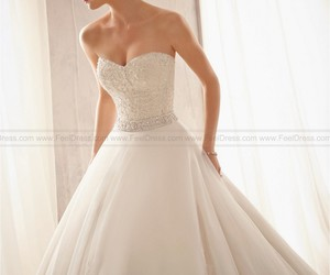 wedding dresses, wedding gowns, and wedding image
