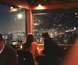 couple, light, and city image