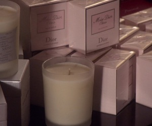 candle, gossip girl, and dior image