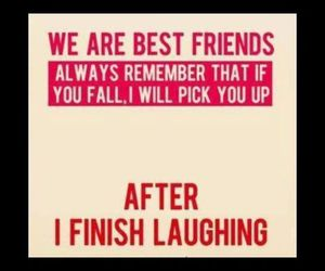 friends, best friends, and laugh image