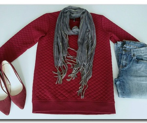 lookbook, scarf, and fall outfit image