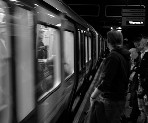 black and white, grunge, and london image
