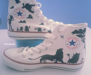 shoes, converse, and disney image